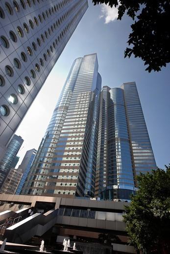 Skyscraper, Kowloon, Hong Kong, China : Stock Photo