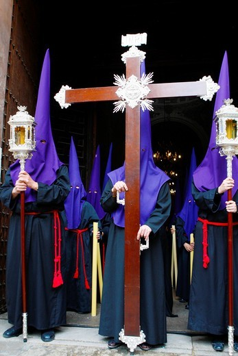 Stock Photo: 1566-779821 Semana Santa Holy Week in Granada Spain