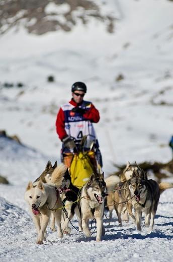 Pirena Advance 2011 in La Partacua, Valle de Tena, Huesca Pyrenees  Spain, Europe : Stock Photo