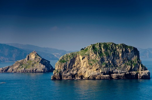 Stock Photo: 1566-780177 Matxitxako viewpoint near of Bermeo village  Biscay  Basque Country, Spain  Europe