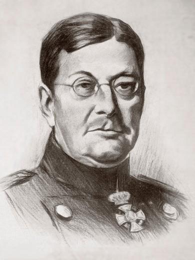 Stock Photo: 1566-781808 Wilhelm Leopold Colmar Freiherr von der Goltz, 1843 – 1916  Prussian Field Marshal and military writer  Also known as Goltz Pasha