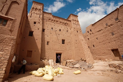 Stock Photo: 1566-782029 Kasbah of Ait Ben Haddou, Morocco, Africa