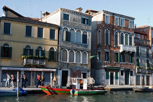 Stock Photo: 1566-782090 Canal, Venice, Veneto, Italy