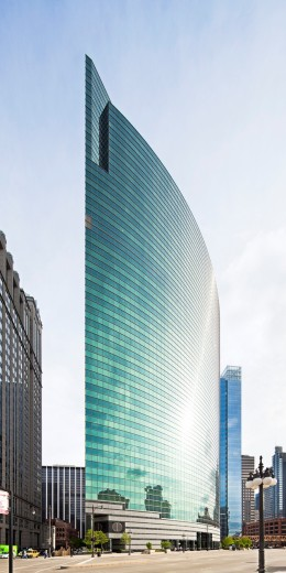 333 West Wacker Drive, Chicago, Illinois : Stock Photo