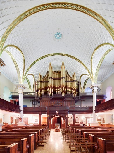Stock Photo: 1566-782581 Holy Trinity Cathedral, Quebec City, QC
