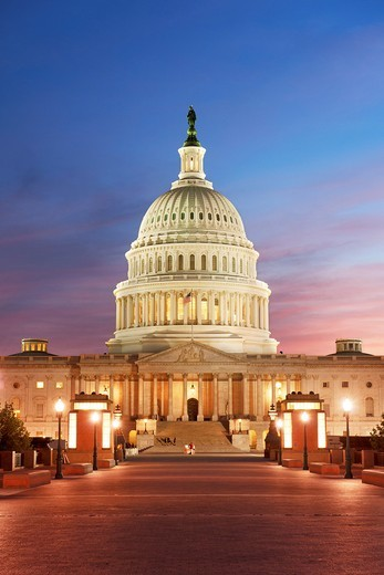Stock Photo: 1566-782636 Capitol, Washington DC