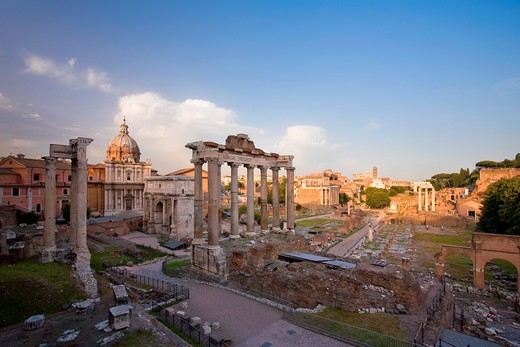 Roman Forum, Rome, Italy : Stock Photo