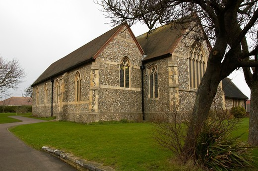Lancing Parish Church, Sussex : Stock Photo
