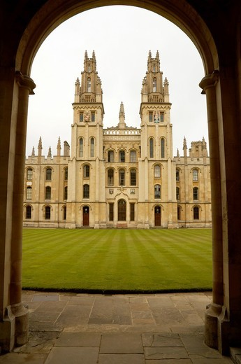 All Souls College, Oxford : Stock Photo