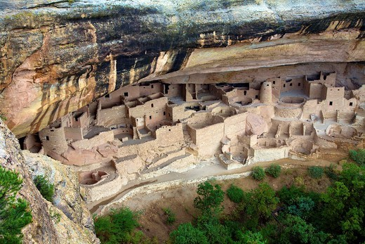Stock Photo: 1566-786265 ´Cliff Palace´ at Mesa Verde National Park, Colorado, United States