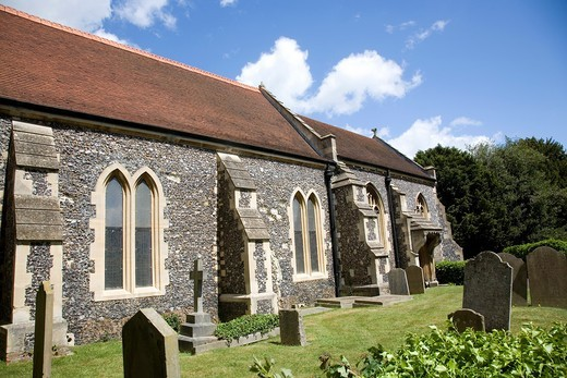 St Michaels Church in Bray : Stock Photo
