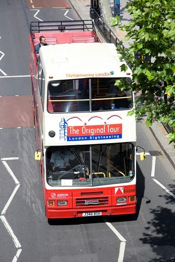 Stock Photo: 1566-787692 London ´Original Tour´ Sightseeing bus