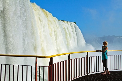 Iguacu Falls, Iguacu National Park, Brazil : Stock Photo
