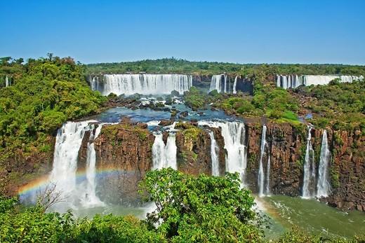 Stock Photo: 1566-788059 Iguacu Falls, Iguacu National Park, Brazil