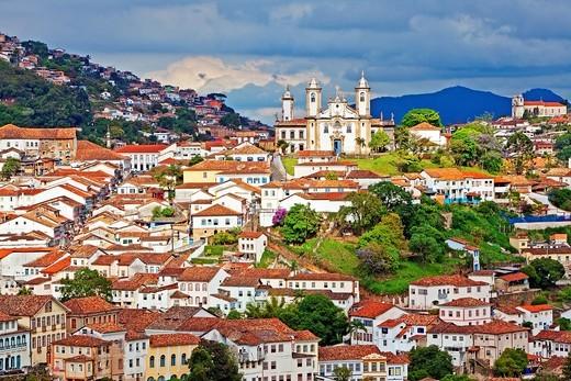 Ouro Preto,Colonial town, Minas Gerais, Brazil : Stock Photo