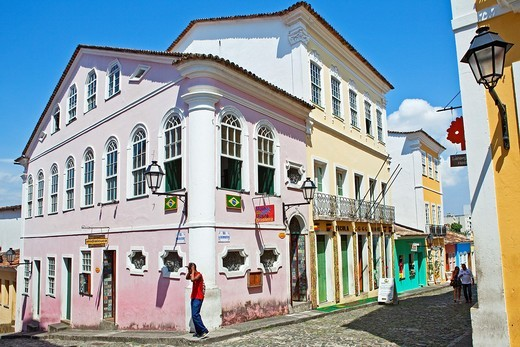 Stock Photo: 1566-788267 Pelourinho,Salvador ,Bahia,Brazil