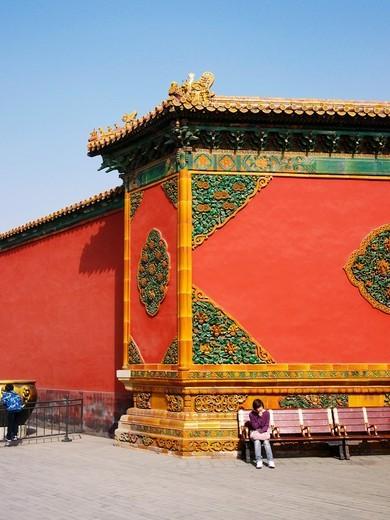 Stock Photo: 1566-788349 Inside the Forbidden City, Beijing