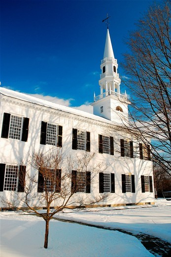 First Presbyterian Church, Litchfield, Connecticut, CT : Stock Photo