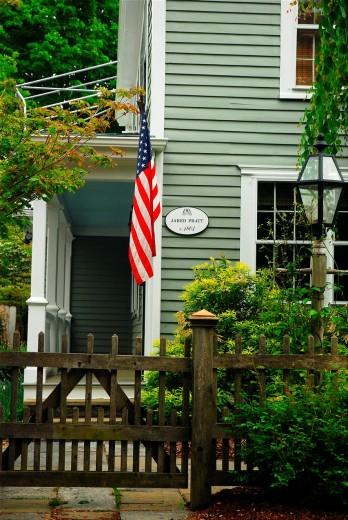 Jared Pratt House, Essex, Connecticut : Stock Photo