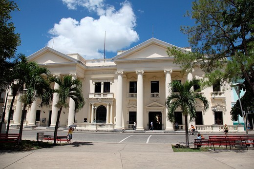 Provincial Palace, Santa Clara, Cuba : Stock Photo