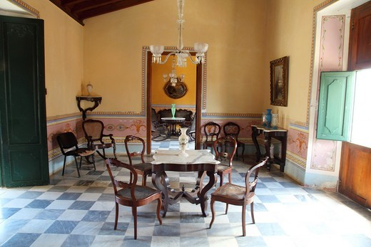 Stock Photo: 1566-790476 Romantic Dining Museum of the historic city of Trinidad, Cuba