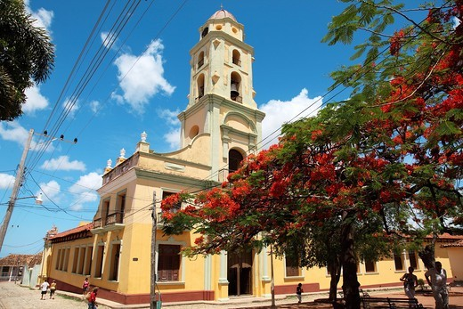 Historic city of Trinidad, Cuba : Stock Photo