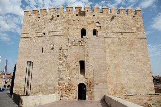 Stock Photo: 1566-790571 Tower of Calahorra Cordoba, Andalusia, Spain