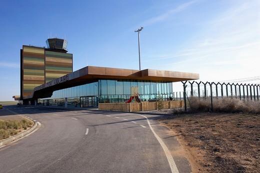 Stock Photo: 1566-793090 Airport of LLeida  LLeida, Spain