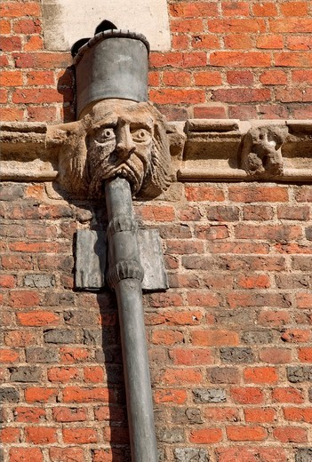 Historical Architectural Detail at Kings College in Cambridge, England : Stock Photo