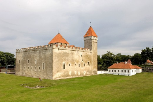 Stock Photo: 1566-795071 Kuressaare Episcopal Castle, Saare County, Estonia