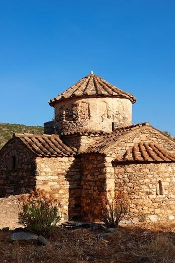 Church of Panagia Damiotissa, Naxos Island Greek Cyclades Island : Stock Photo