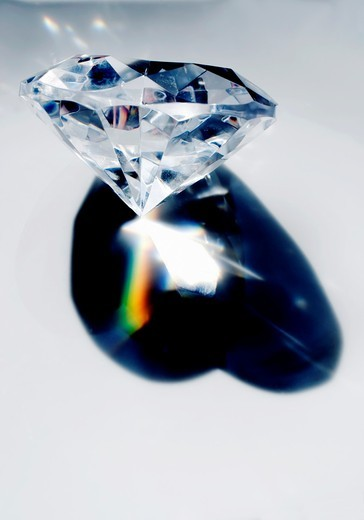 Stock Photo: 1566-796190 Chrystal Prism, in Shape of Heart by Tiffany Jewelry Co