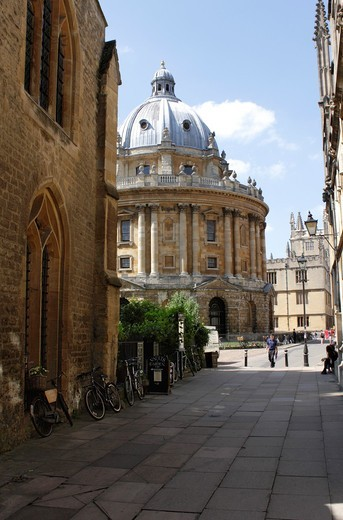 Stock Photo: 1566-797196 Radcliffe Camera Oxford