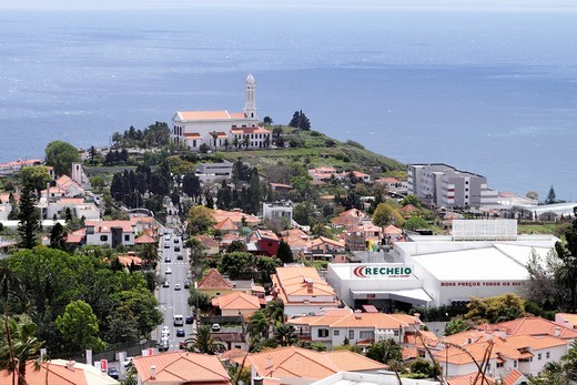 Sao Martinho church Funchal Madeira : Stock Photo