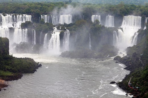 Iguazu Falls, Iguazu National Park, Brazil : Stock Photo