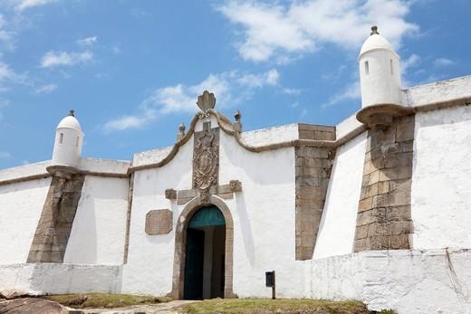 Stock Photo: 1566-797781 historic fortress, Ilha do Mel, Brazil