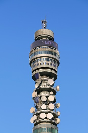 BT tower, London, UK : Stock Photo