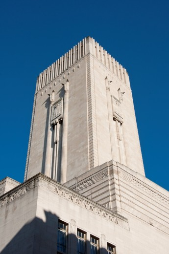 Stock Photo: 1566-803980 St Georges Dock Ventilation Tower Liverpool England