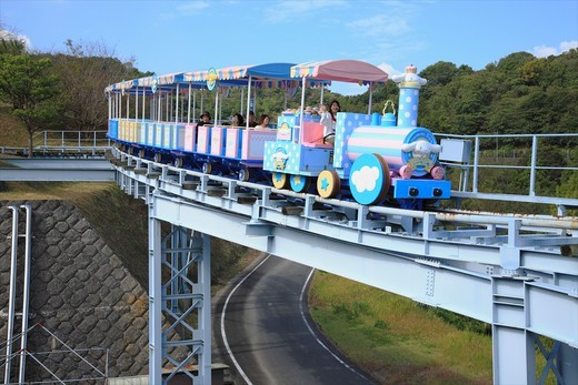 Harmonyland, Oita, Japan  Theme park dedicated to Hello Kitty and other Sanrio characters : Stock Photo