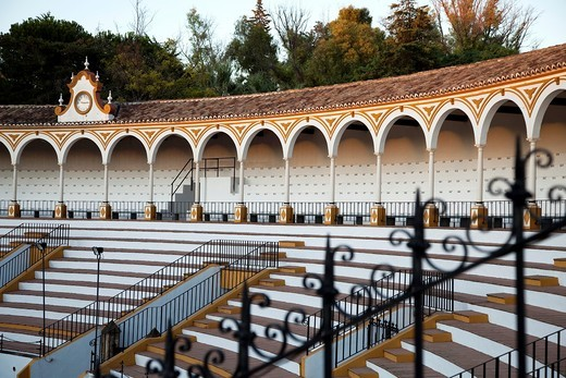 Stock Photo: 1566-805657 Coso and steps from the bullring de Antequera, Andalusia, Spain