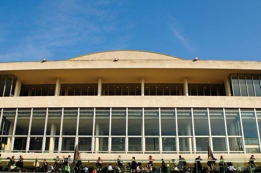 Royal Festival Hall, South Bank Centre, London, UK : Stock Photo