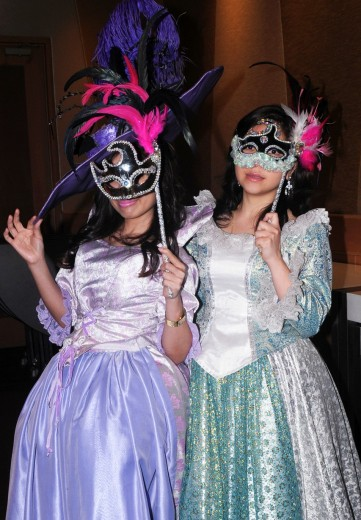 Stock Photo: 1566-810264 Masquerade , bangkok mask party , the crazy ball of bangkok, thailand