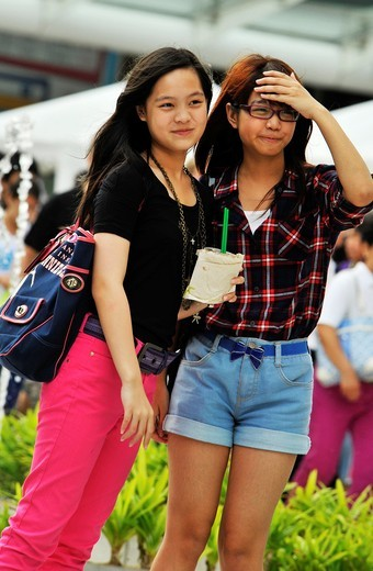 Stock Photo: 1566-810667 trendy and cute, Fashion Bangkok style, life and living, Bangkok, Thailand