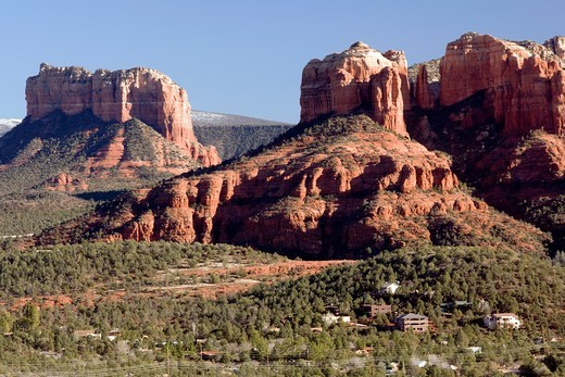 View of Cathedral Rock - Sedona, Arizona : Stock Photo