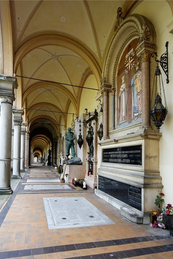Stock Photo: 1566-812513 Mirogoj Cemetry Zagreb Croatia