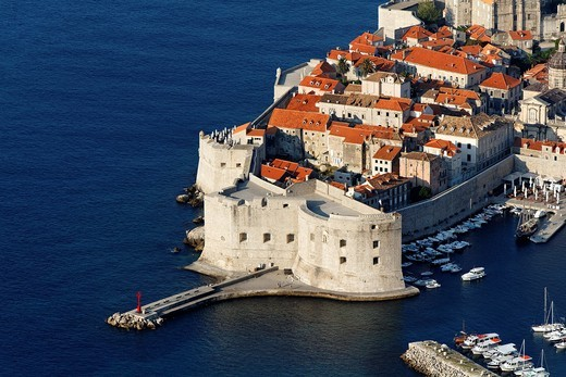 St John's Fortress, Dubrovnik, Croatia, UNESCO : Stock Photo
