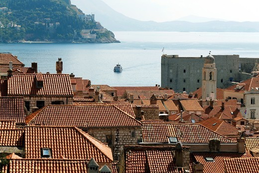 Stock Photo: 1566-812687 Dubrovnik, one of the most popular tourist destinations on the Adriatic, Croatia, UNESCO