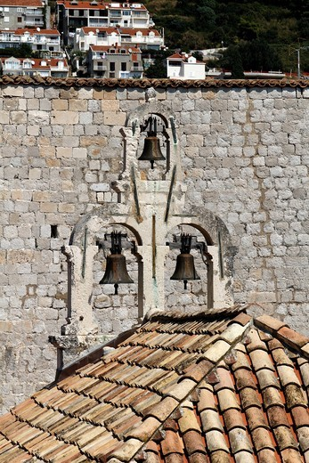 Stock Photo: 1566-812705 Dubrovnik, Church Bells, Croatia