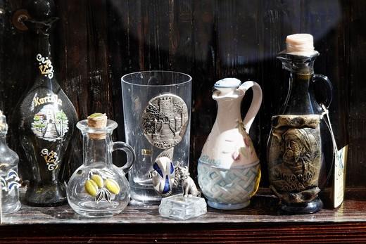 Stock Photo: 1566-812824 Souvenirs shop, Korcula Town at Korcula Island, Croatia