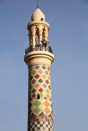 Stock Photo: 1566-813583 Bahrain, Manama, Friday Mosque, minaret